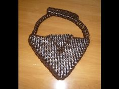 "BOLSO ANILLAS TRIANGULAR "" PETICION"" PARTE 1 - YouTube"