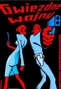 STAR WARS: EPISODE IV - A NEW HOPE (Dir. George Lucas, 1977) Polish poster