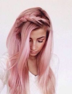rose gold cheveux