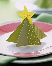 Tree Place Card and more on MarthaStewart.com