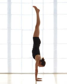Think you can't do an inversion? This site gives a six photo slide show with tips to work up to a handstand along with easily gaining upper body and core strength, along with a healthly dose of confidence.
