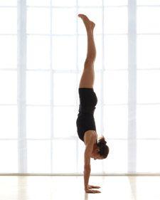 Yoga -- Handstand  (My #1 Motivation Pose)