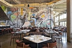 Street art and industrial aesthetics meet the family-conscious cuisine of Emilia-Romagna at new L.A. restaurant...