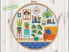 Cactus Cross Stitch, Cross Stitch Hoop, Cross Stitch Baby, Simple Cross Stitch, Cross Stitch Samplers, Cross Stitch Flowers, Cross Stitching, Cross Stitch Letter Patterns, Cross Stitch Letters