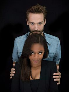 These two are just adorable together. Tom Mison & Nicole Beharie