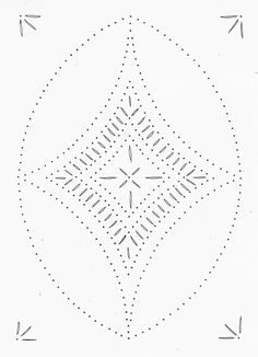 Tin Punch Patterns :: P 1065 Diamond No.2 10x14 - Pierced Tin Designs