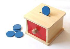 Montessori pokladnička