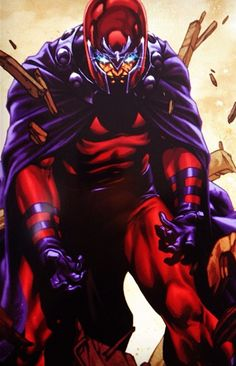 magneto comics | Thor, Magneto, and Ghost Rider Vs. Superman, Wonder Woman, and GL ...