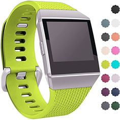 Wepro Fitbit Ionic Watch Band, Bands Replacement Sport Strap Accessory for Fitbit Ionic Smartwatch, Buckle, Lime, Small #Wepro #Fitbit #Ionic #Watch #Band, #Bands #Replacement #Sport #Strap #Accessory #Smartwatch, #Buckle, #Lime, #Small