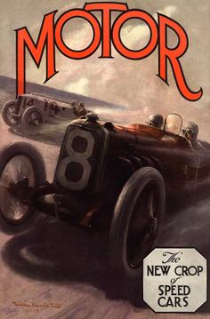 foster painting 1915  Motor magazine