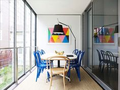 Charlotte Minty Interior Design: Fresh and Stylish Meeting Room