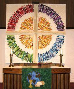 liturgical quilt | Quilt - liturgical