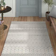 Mistana Clair Gray Area Rug Rug Size: Rectangle x Decor, Bedroom Rug, Grey Carpet, Stair Runner Carpet, Beige Area Rugs, Rug Sale, Rugs, Beige Carpet, Area Rugs