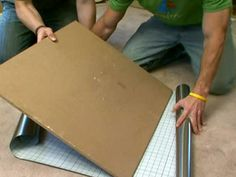 Turn eyesores into eye-openers with peel-and-stick stainless steel film. From the experts at DIYNetwork.com.