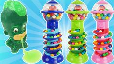PJ Masks Doll Bubble Gum Game with Gumball Candy Slime Toys LEARN COLORS for Preschoolers. Gumball candy are one of the best learning toys for teaching colors counting and sorting. PJ masks play a gumball candy game to see who gets the most colors. This is an educational learning video for preschoolers toddlers babies children and kids.  Bubble Gum in All Languages : bubble gum バブルガム 풍선껌 chiclete Жвачка chicle de globo เหงอกฟอง gomma da masticare bubble-gum kauwgum 泡泡糖 泡泡糖 علكة  In Spanish…
