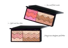 By Terry recently launched two new face palettes with bronzer, blush and highlighters cased in a single mirrored compact called the Sun Designer Palette ($82 for 15 g/0.53 oz). There are two options in this launch Tan and Flash Cruise 1 and Light and Tan Vibes 2. Both are simply glorious and well worth the splurge. I ordered both of mine sight unseen last month and the swatches on Beauty…