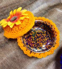 Crochet Trinket Boxes by LFDSIStore on Etsy, $5.00