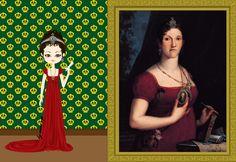Brazilian Royal Family - Carlota Joaquina  c. 1805