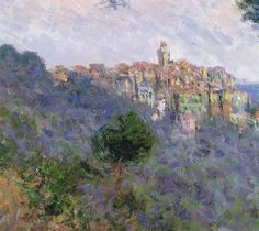 Monet, Bordighera, Italy (DETAIL)
