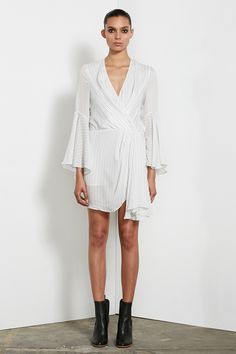 Shona Joy - Adeline Draped Mini Dress