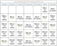 30 Day Squat Challenge Before And After | Report Inappropriate Blog