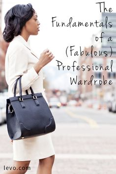 Fundamentals of a Fabulous Professional Wardrobe. Very helpful Business Outfits, Office Outfits, Business Fashion, Business Casual, Business Women, Work Outfits, Business Lady, Business Attire, Professional Wardrobe
