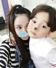 ulzzang kids by: Cute Asian Babies, Korean Babies, Asian Kids, Cute Babies, Couple Ulzzang, Ulzzang Kids, Mama Baby, Mother And Baby, Mom And Baby