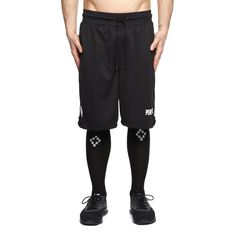 Michay shorts from the F/W2017-18 Marcelo Burlon County of Milan collection in black