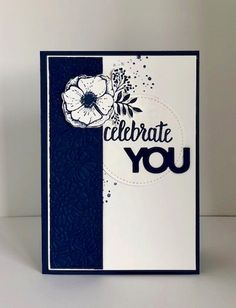 This Night of Navy Amazing You  card was created using a card map. Click to see the map!