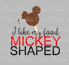 Food Mickey Shaped SVG, Studio, EPS, and JPEG Digital Downloads – Magikal Cuts