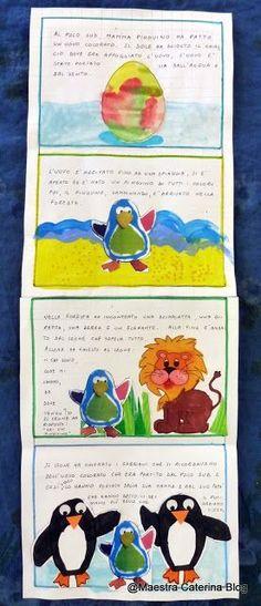 """Il Pinguino Arcobaleno vi presenta la sua storia... """"È una storia che punta sull'accettazione della diversità attraverso la... School Clipart, Book Crafts, Clip Art, Education, Trainer, Gq, Corner, Samsung, English"""