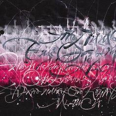Завтра будет жарко , будет сочно! 🦄 7 счастливчиков ждёт шальная композиция🐩 #thedailytype #типографика #typography #design #designspiration #calligraphy #каллиграфия #letteringdesign #brush #brushpen #typedaily #texture #typematters #brushtype #typegang #graffiti #calligrafia #moderncalligraphy #brushlettering #typism #goodtype #леттеринг #lettering #кириллица #cyrillic #typespire #handlettering #texture #calligraphymasters #alphabet