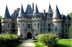 Château de Vigny, Vigny, Val-d'Oise, Île-de-France, France