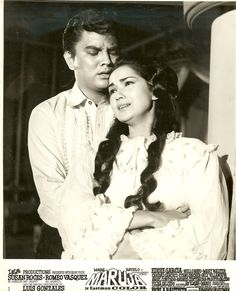 Romeo Vasquez and Susan Roces in 1967 film Maruja. Credit: Emmanuel / LEA Productions.