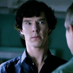 Sherlock doing that thing he does with his brow, and his mouth... and his neck...