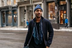 New York City never fails to deliver to truly unique mix of guys suited up and streetwear-ed out