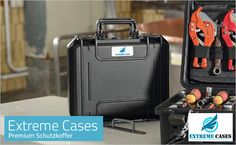 The Extreme Case range of waterproof cases is IP67 rated. Extreme Cases are rugged, versatile and offer superior protection in harsh conditions. A cost effective option, they provide impact protection for all types of fragile or expensive equipment. Available in a range of sizes, including wheeled versions which are a popular Peli Case Alternative. Tactical Gear, Suitcase, Conditioner, Alternative, Guns, Range, Cases, Popular, Weapons Guns
