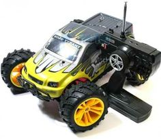 1:10 4WD Brushless Powered Off Road Monster Windspout X-missile Truck RC RTR