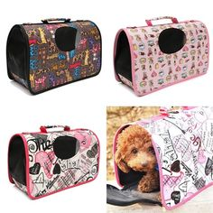 Soft Travel Tote Shoulder Pet Puppy Dog Cat Carrier Kennel House Cage Bag Case at Banggood