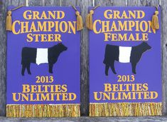 Beltie Logo | Livestock Show Awards, Livestock Show Banners, 4-H and FFA Recognition ...