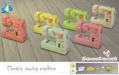 Sims 4 CC - Electric Sewing Machine by s Sweetmint