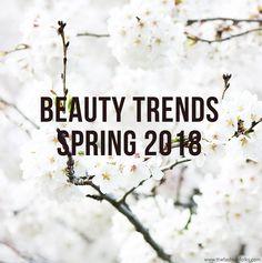 Beauty Trends Spring 2018 | Makeup Trends, nail trends 2018, makeup looks, makeup trends spring 2018, nail trends spring 2018, skincare 2018, makeup tips, beauty inspiration, braids 2018, makeup 2018, glossy lips 2018, perfect looking skin makeup look, no makeup makeup look, eyeliner 2018, framed eyes 2018