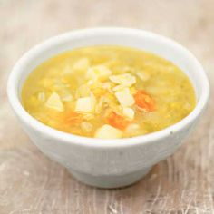 Potato-Leek Soup from Delish.com #vegetables #myplate