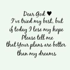 Trust in God-so need this right now!!