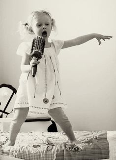 Sing it girl, life is full of start moments. Remember when the brush gave you all the confidence in the world?
