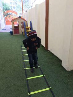 Little Rhythmites enjoying the sports class... #Kindergarten #PreSchool