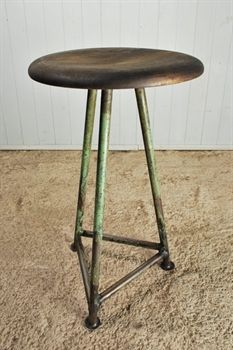 Reclaimed Factory Stools - Vintage Industrial Furniture - Original House