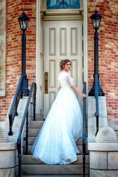 A Provo City Center Temple wedding. ©Joe Haynie