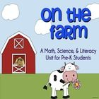 Product Description:  Your little farmers will have so much fun with all of the activities in this comprehensive unit!  They will practice emergent ...