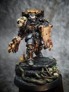 Warhammer Armies, Warhammer 40k Figures, Warhammer Models, Warhammer 40k Miniatures, Space Marine, Miniture Things, Model Kits, Concept, Dark Angels